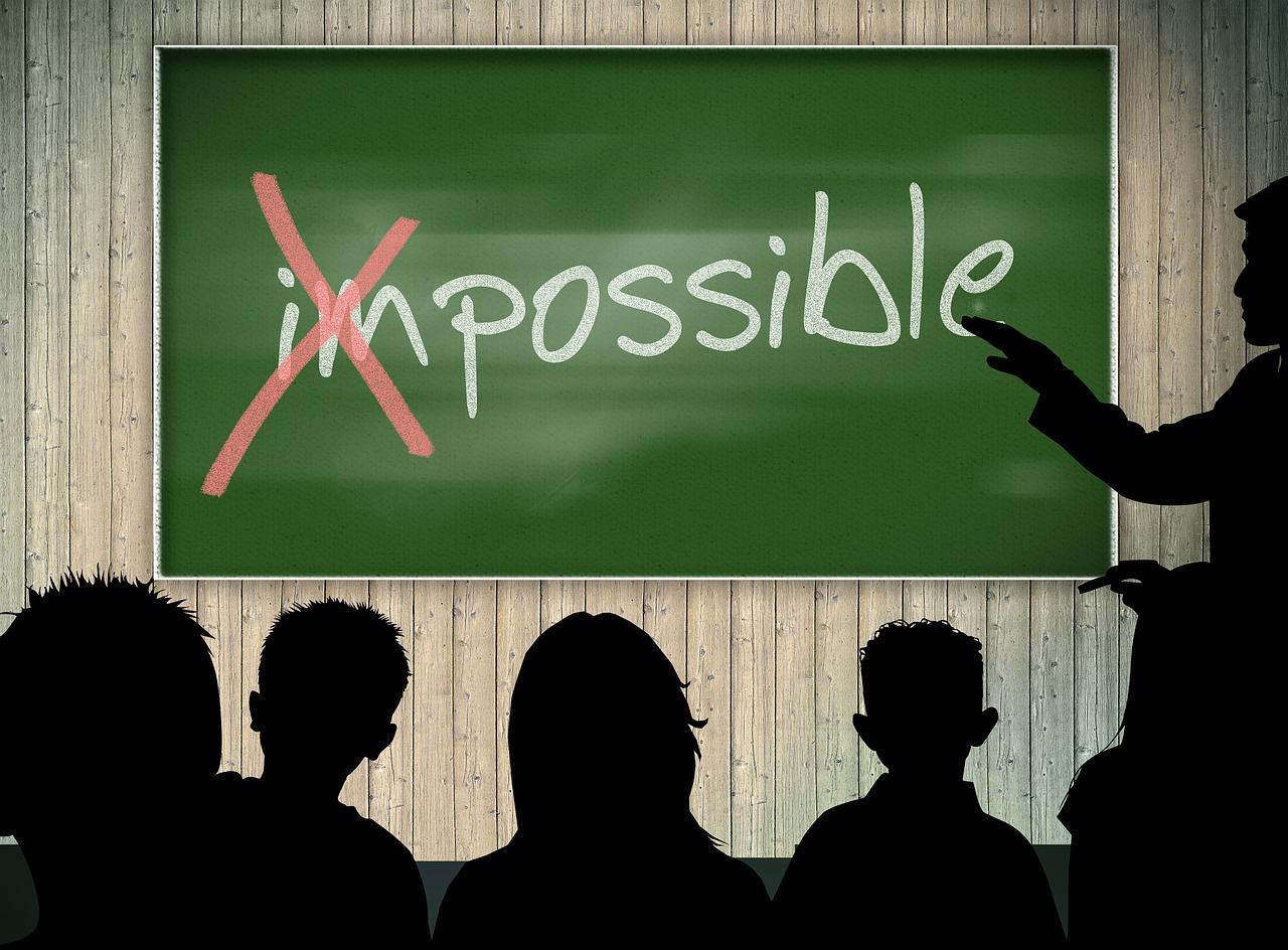 不可能という言い訳